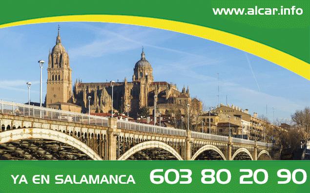 El otoño nos lleva a Salamanca. Ya en Salamanca